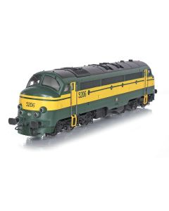 Topline Lokomotiver, nmj-topline-95405-sncb-5206-nohab-afb-ac, NMJT95405