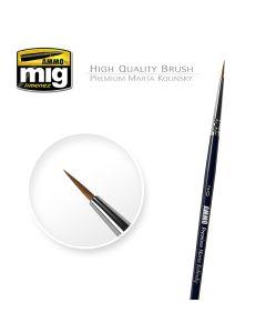 Mig, ammo-by-mig-jimenez-mig-8601-premium-martha-kolinsky-round-brush-00, MIG8601