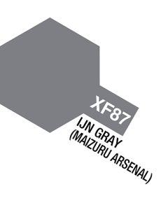 Tamiya, tamiya-81787-acrylic-mini-xf-87-ijn-grey-maizuru-arsenal, TAM81787