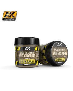 AK Interaktive, ak-interactive-8029-splatter-effects-wet-ground-diorama-series-100-ml, AKI8029