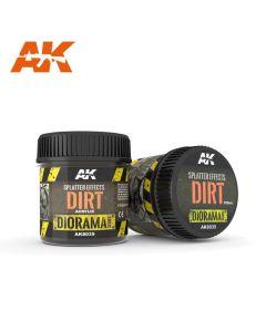 AK Interaktive, ak-interactive-8035-splatter-effects-dirt-diorama-series-100-ml, AKI8035