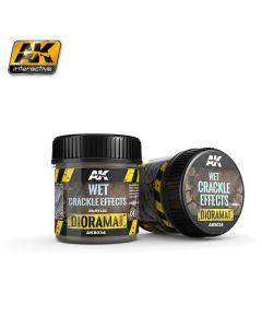 AK Interaktive, ak-interactive-8034-wet-crackle-effect-diorama-series-100-ml, AKI8034