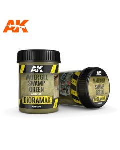 AKI8006, ak-interactive-8006-diorama-series-water-gel-swamp-green-acrylic-250-ml