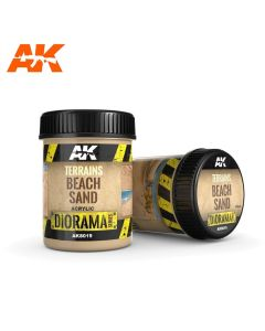 AKI8019, ak-interactive-8019-diorama-series-terrains-beach-sand-acrylic-250-ml