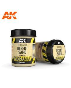 AKI8020, ak-interactive-8020-diorama-series-terrains-desert-sand-acrylic-250-ml