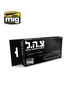 Mig Akrylmaling, ammo-by-mig-jimenez-7163-israel-defense-forces-special-edition-acrylic-paint-17-ml, MIG7163