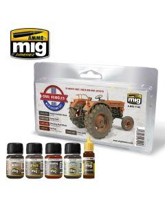 Mig, ammo-by-mig-jimenez-mig7145-civil-vehicles-weathering-set, MIG7145