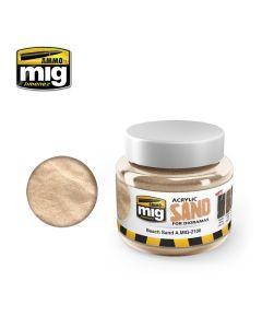 Mig, Ammo-by-Mig-Jimenez-MIG2106-beach-sand-acrylic-sand-250-ml-jars, MIG2106
