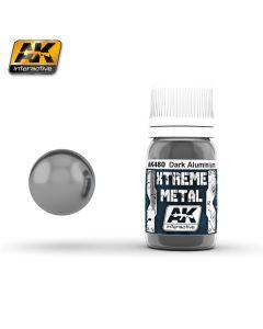 AK Interaktive, ak-interactive-ak-480-xtreme-metal-dark-aluminium-30-ml, AKI480