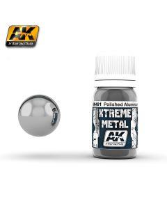 AK Interaktive, ak-interactive-ak-481-xtreme-metal-polished-aluminium-30-ml, AKI481