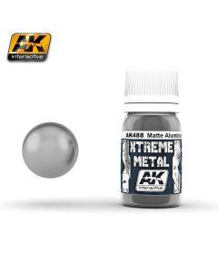 AK Interaktive, ak-interactive-ak-488-xtreme-metal-matte-aluminium-30ml, AKI488