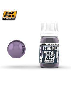 AK Interaktive, ak-interactive-ak-674-xtreme-metal-metallic-purple-30-ml, AKI674