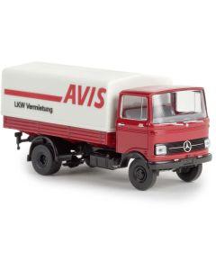"""Lastebiler, MB LP 608 PP """"Avis"""", BRE48571"""