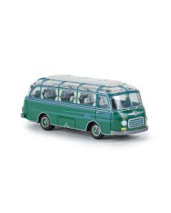 Busser, Setra S 6 Buss, Grønn/Blå, BRE56024