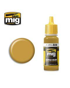 Mig Akrylmaling, ammo-by-mig-jimenez-0222-rlm-79-sandgelb-acrylic-paint-17-ml, MIG0222