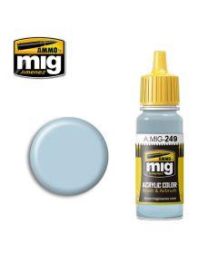Mig Akrylmaling, ammo-by-mig-jimenez-0249-light-blue-acrylic-paint-17-ml, MIG0249
