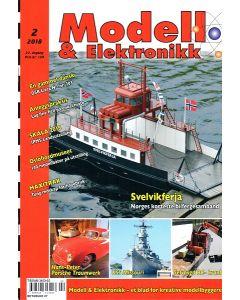 Blader, Modell & Elektronikk 2/2018, Teknisk Hobbyblad, MOE0218