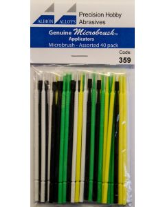 Verktøy, albion-alloys-359-microbrush-ultrabrush-assorted-pack, ALB359