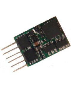 Digital, MX617N Liten Dekoder, DCC/MM, 0,8 A, NEM651, ZIMMX617N