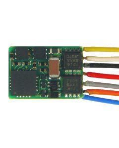 Digital, MX617 Liten Dekoder, DCC/MM, 0,8 A, 9 Ledninger, ZIMMX617