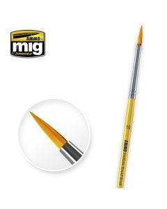 Mig, ammo-by-mig-jimenez-mig-8617-syntetic-round-brush-10, MIG8617