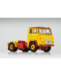 Lastebiler, vk-modelle-76013-scania-vabis-lb7635-yellow-red-scale-1-87, VKM76013