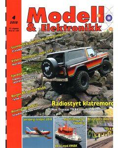 Blader, Modell & Elektronikk 4/2018, Teknisk Hobbyblad, MOE0418