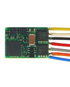Digital, MX617F Liten Dekoder, DCC/MM, 0,8 A, NEM651, ZIMMX617F