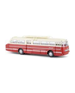 Busser, Ikarus 66 buss, Rød/Beige, BRE59559