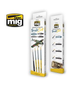 Mig, Penselsett, Chipping & Detailing, MIG7603