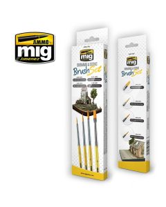 Mig, Penselsett Diorama & Landskap, MIG7601