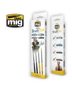 Mig, Penselsett For Figurer, MIG7600