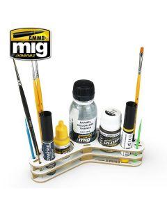 Mig, ammo-by-mig-jimenez-8028-boomerang-organizer, MIG8028