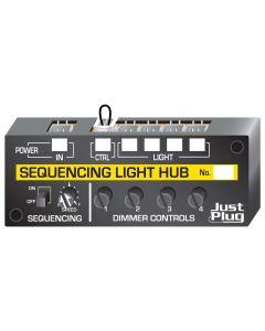 Belysning, woodland-scenics-jp-5680-just-plug-sequencing-light-hub, WODJP5680