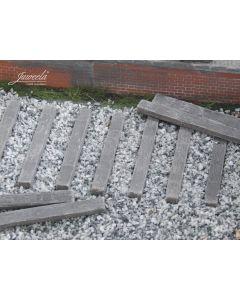 Detaljering, juweela-22080-old-railway-threshold-wood-skala-1-22-1-24, JUW22080