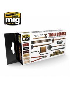 Mig Akrylmaling, ammo-by-mig-jimenez-7112-tool-colors, MIG7112