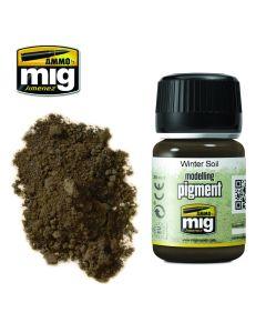 Mig, ammo-by-mig-jimenez-mig3029-winter-soil-pigments-35-ml, MIG3029