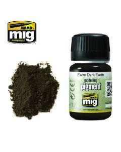 Mig, ammo-by-mig-jimenez-mig3027-farm-dark-earth-pigments-35-ml, MIG3027