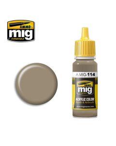 Mig Akrylmaling, ammo-by-mig-jimenez-0114-zimmerit-ochre-color-acrylic-paint-17-ml, MIG0114