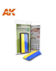 AK Interaktive, ak-interactive-82+8-greenpower-expoxy-putty, AKI8208