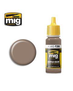 Mig Akrylmaling, ammo-by-mig-jimenez-135-burnt-cinnamon-acrylic-paint-17-ml, MIG0135