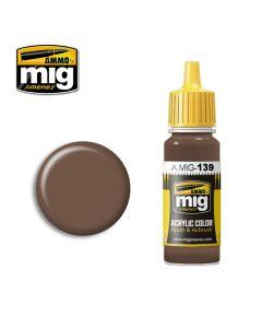 Mig Akrylmaling, ammo-by-mig-jimenez-139-red-earth-acrylic-paint-17-ml, MIG0139