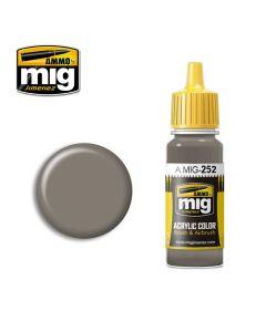 Mig Akrylmaling, ammo-by-mig-jimenez-252-grey-brown-amt-1-acrylic-paint-17-ml, MIG0252