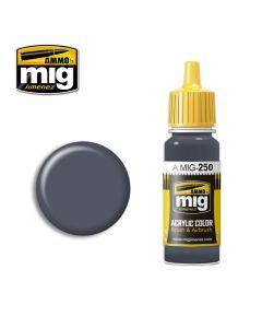 Mig Akrylmaling, ammo-by-mig-jimenez-250-night-blue-grey-acrylic-paint-17-ml, MIG0250