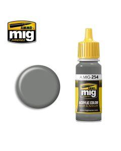 Mig Akrylmaling, ammo-by-mig-jimenez-254-rlm-75-grauviolett-acrylic-paint-17-ml, MIG0254