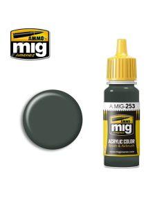 Mig Akrylmaling, ammo-by-mig-jimenez-253-rlm-74-graugrun-acrylic-paint-17-ml, MIG0253