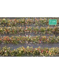 Blomster og planter, Blomstereng-striper, Flerfarget, Stor Pakke, MIN767-29