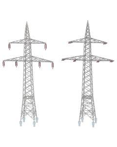 Industri (Faller), faller-130898-freileitungsmasten-110kv-scale-h0, FAL130898