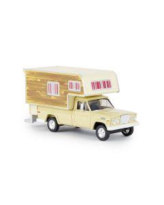 Personbiler, brekina-19834-jeep-gladiator-a-camper-woody, BRE19834