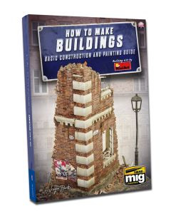 Bøker, ammo-by-mig-jimenez-mig-6135-how-to-make-buildings-contruction-and-painting-guide-english-book, MIG6135
